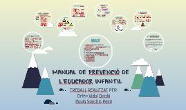 MANUAL DE PREVENCIÓ DE L'EDUCADOR INFANTIL