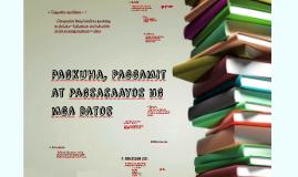 Copy of Pagkuha, Paggamit at Pagsasaayos ng mga Datos