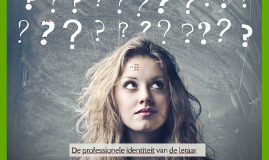 De professionele identiteit van de leraar