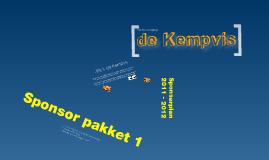 De Kempvis - Sponsor plan