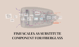 FISH SCALES AS SUBSTITUTE COMPONENT FOR FIBERGLASS
