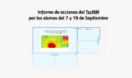 Informe de acciones del TecNM