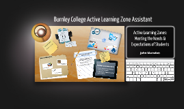 Active Learning Zones, Needs & Expectations of Students by John Marsden