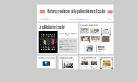 Copy of Historia y evolución de la publicidad en el Ecuador