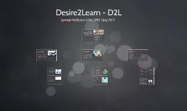 Desire2Learn - D2L