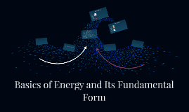 Basics of Energy and Its Fundamental Form