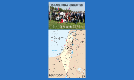 ISRAEL Pray Group 50 Trip