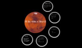 Hi ha vida a Mart?