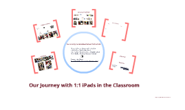 Our Journey with 1:1 iPads in the Classroom