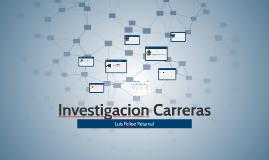 Investigacion Carreras