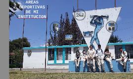 AREAS DEPORTIVAS DE MI INSTITUCION