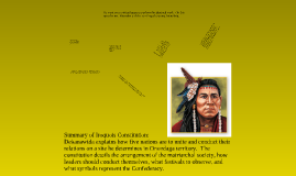 from The Iroquois Constitution