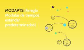 MODAPTS (Arreglo Modular de tiempos estándar predeterminados
