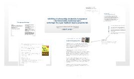 Udvikling af selvstændige akademiske kompetencer i det humanistiske bachelorprojekt:Erfaringer fra et peer feedback-baseret projektforløb