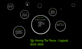 Life Among The Haves : England, 1660-1800
