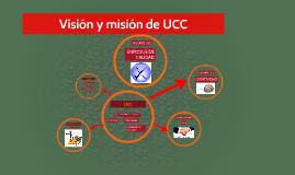 Visión y misión de UCC