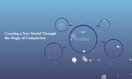 Creating a New World Through The Magic of Compassion