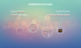 DINÁMICA DE CLASE