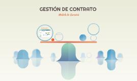 GESTIÓN DE CONTRATO