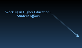 Student Affairs as a Profession