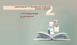 Analisis NPF Murabahah dan Mudharabah Terhadap Profitabilita
