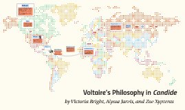 Voltaire, the author of Candide, explores controversial idea