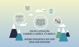 MÃORI INFLUENCE ON NEW ZEALAND ENGLISH