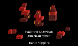 Evolution of African American music
