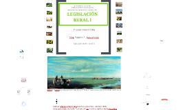 Clase presentación Legislación Rural I - 2016