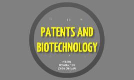Patenting Biotech