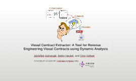 Visual Contract Extractor: A Tool for Reverse Engineering Visual Contracts using Dynamic Analysis