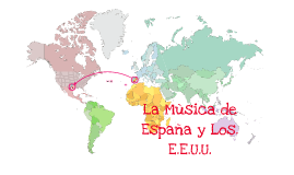 La Musica de Espana y Los E.E.U.U.