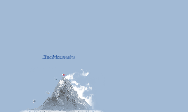 Copy of Blue Mountains