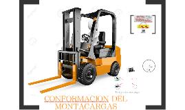 CONFORMACION DEL MONTACARGAS