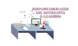Responsabilidades del estudiante e-learning