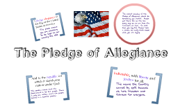 What is the Pledge of Allegiance
