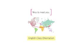 영어수업 Orientation(강시원)