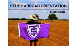 Copy of J-Term 2017 Orientation
