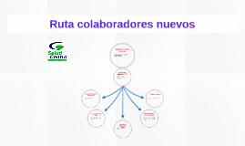 Ruta colaboradores nuevos