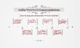 Análise Histórica do Empreendedorismo