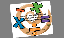 Making the Most of Differentiated Math Small Groups NCCTM Eastern Conference 2014