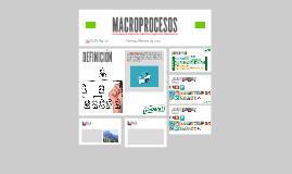 MACROPROCESOS