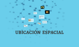 UBICACIÓN  ESPACIAL