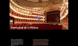 2016 Publicidad de la música