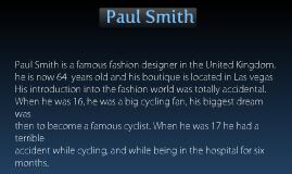 Paul Smith fashion designs