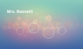 Mrs. Bassetti