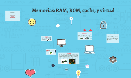 Copy of Memorias: RAM, ROM, caché, y virtual