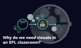 Why do we need visuals in an EFL classroom?
