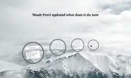 Woah Prezi updated what does it do now