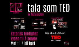 talasomTED Statped Keynote
